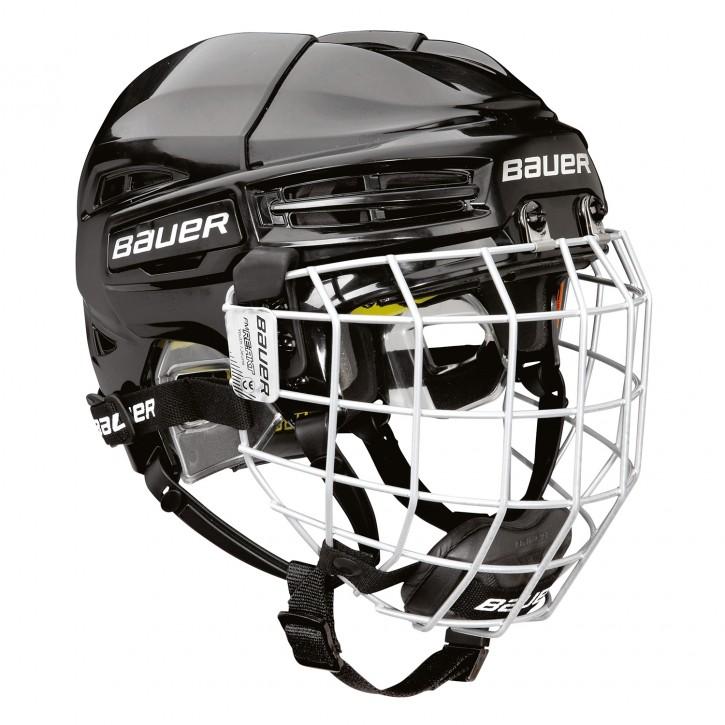 BAUER Helm mit Gitter RE-AKT 100 - Yth. Combo