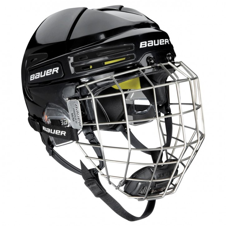 BAUER Helm mit Gitter RE-AKT 75 combo