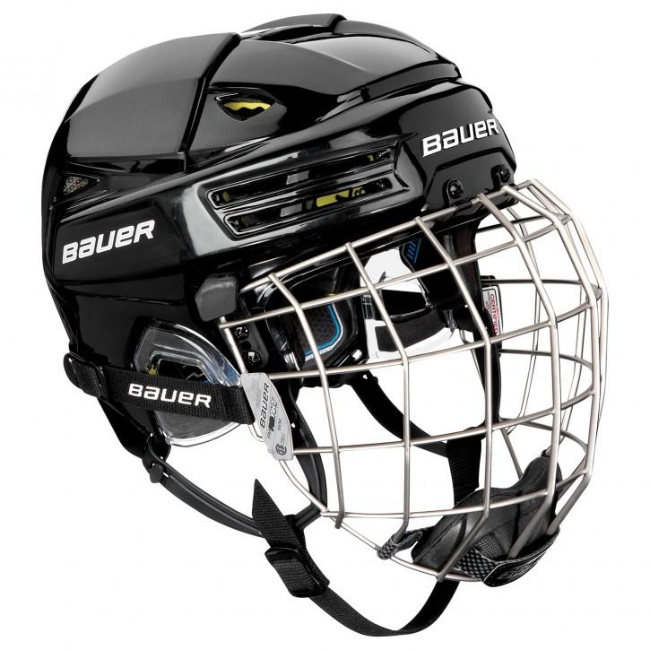 BAUER Helm mit Gitter RE-AKT 200 combo Sr.