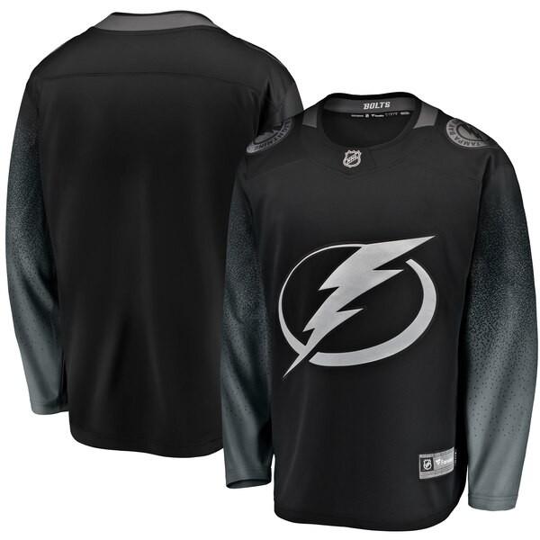 Tampa Bay Lightning Fanatics Branded Alternate Breakaway Jersey - Black