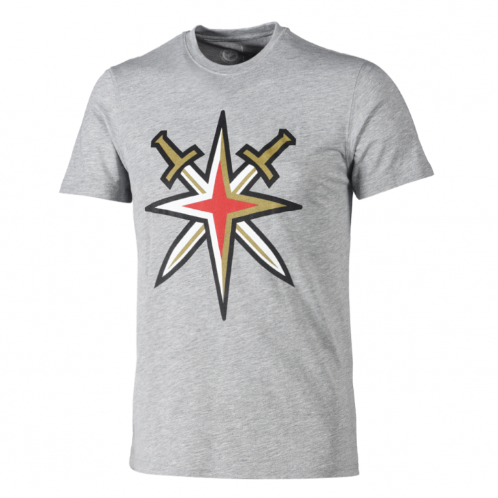 Vegas Golden Knights Secondary Core Graphic T-Shirt - Grey -